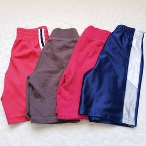 Bundle boys 4t shorts soft elastic waist old navy